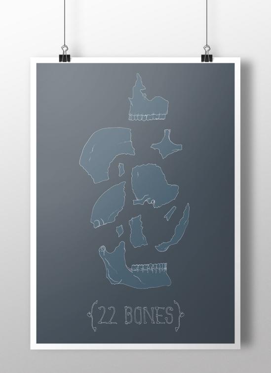 22 Bones Poster Mock Up