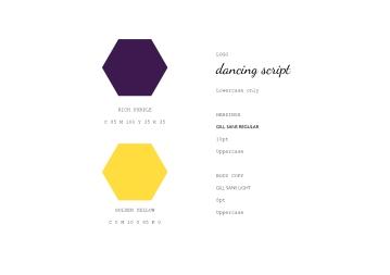 Honey Suckle Branding Guidelines
