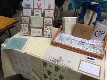 Manchester Print Fair No 8 Stall