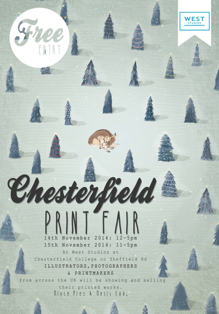 Chesterfield Print Fair flyer
