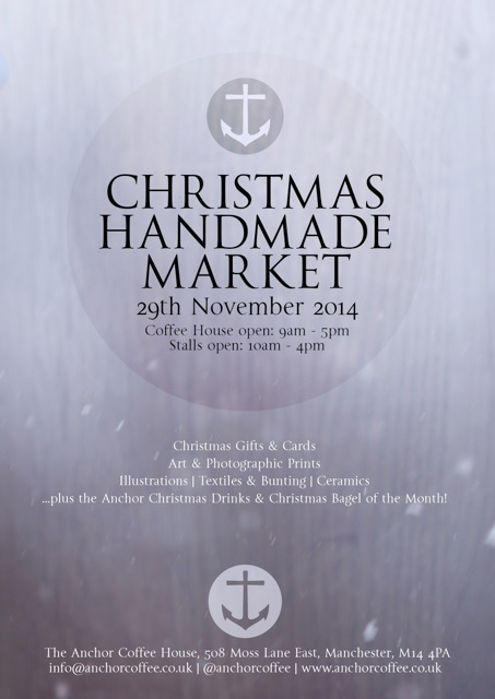 Anchor Christmas Market Poster