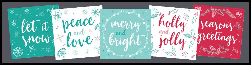 Christmas Cards 2017 Set
